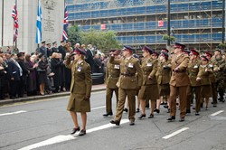 205 (Scottish) Field Hospital (Volunteers) - Remembrance Sunday Glasgow 2011