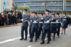 Royal Air Force - Remembrance Sunday Glasgow 2011