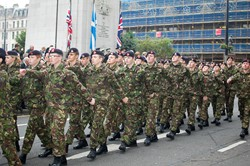 Army Cadets - Remembrance Sunday Glasgow 2011