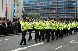 Police - Remembrance Sunday Glasgow 2011