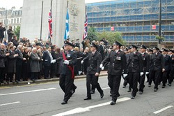 Fire and Rescue - Remembrance Sunday Glasgow 2011