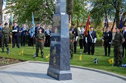 Veterans and Cadets - Veterans Memorial Monument, Glasgow