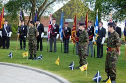 Veterans and Army Cadets - Veterans Memorial Monument, Knightswood, Glasgow
