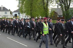 Veterans on Parade in Glasgow