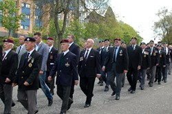 Veterans on the March - Glasgow 2012
