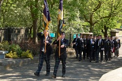 Royal Highland Fusiliers Veterans Parade