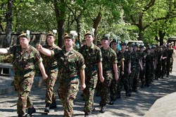 Glasgow and Lanarkshire Army Cadets Parade