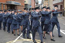 Universities of Glasgow and Strathclyde Air Squadron- Armed Forces Day Glasgow 2012
