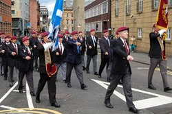 Parachute Regiment Veterans - Armed Forces Day Glasgow 2012