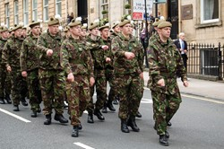 Cadets - Armed Forces Day Glasgow 2012