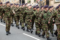 Parade of Cadets - Armed Forces Day Glasgow 2012