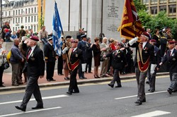 Parachute Regiment - Armed Forces Day Glasgow 2012