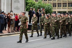 Army Cadets - Armed Forces Day Glasgow 2012