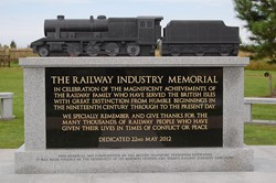 Railway Industry Memorial - National Memorial Arboretum