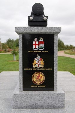 Railway Company Emblems - Railway Industry Memorial