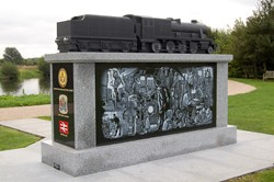 Railway Industry Memorial - Artwork by Railway Artist