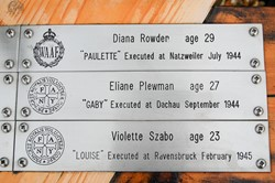 Diana Rowden, Elaine Plewman, Violette Szabo - Special Operations Executive