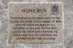 Home Run - Allied Escapers and Evaders - National Memorial Arboretum