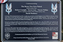 Bravo Two Zero Patrol - Allied Special Forces Memorial Grove
