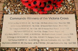 Victoria Cross - Army Commandos Memorial