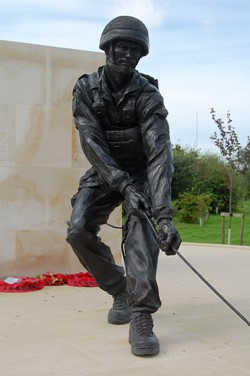 Paratrooper - Parachute Regiment Memorial, National Memorial Arboretum