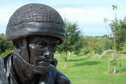 Paratrooper Statue - Parachute Regiment Memorial