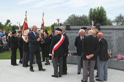 Polish Veterans at Polish Armed Forces Memorial - 2012 Commemoration