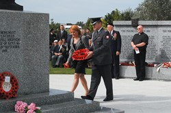 Polish Defence Attaché - Polish Armed Forces Memorial 2012