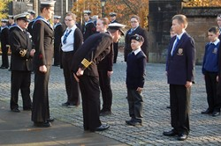 Parade Inspection - Seafarers' Service, Glasgow Cathedral in 2012