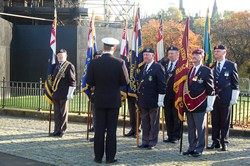 Military Standards - Seafarers' Service, Glasgow Cathedral 2012