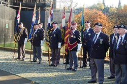 Standard Bearers and Veterans - Seafarers' Service, Glasgow Cathedral 2012