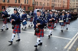 Strathclyde Fire and Rescue Band - Remembrance Sunday Glasgow 2012