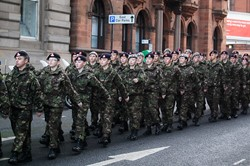 Army Cadets - Remembrance Sunday Glasgow 2012