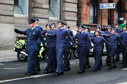 Air Training Corp - Remembrance Sunday Glasgow 2012