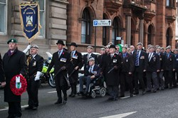 Royal Scots Dragoon Guards Assocation - Remembrance Sunday Glasgow 2012