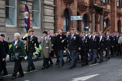 Veterans of the Scots Guards - Remembrance Sunday Glasgow 2012