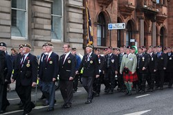 Scots Guards & Royal Highland Fusiliers Association - Remembrance Sunday Glasgow 2012