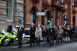 Veterans on Parade - Remembrance Sunday Glasgow 2012