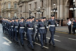 Royal Air Force Lossiemouth - Remembrance Sunday Glasgow 2012