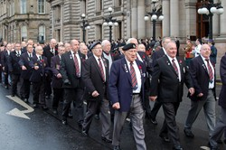 Veterans on Parade - George Square Glasgow 2012