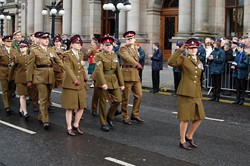 205 (Scottish) Field Hospital (Volunteers) - Remembrance Sunday Glasgow 2012