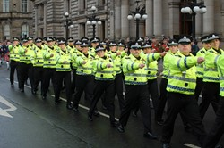 Police on Parade - Remembrance Sunday Glasgow 2012