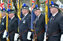 Royal British Legion Standard Bearers - Spitfire Memorial Grangemouth