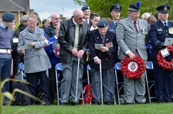 Service of Dedication - Spitfire Memorial Grangemouth