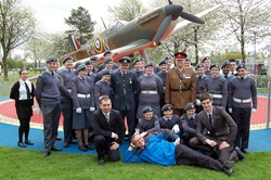 1333 Cadets Air Training Corps - Spitfire Memorial Grangemouth