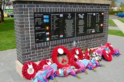 Memorial Wall - Spitfire Memorial Grangemouth