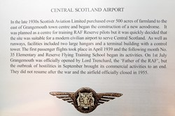 Central Scotland Airport - Spitfire Memorial Grangemouth