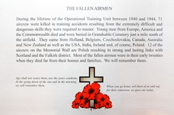 The Fallen Airmen - RAF Grangemouth