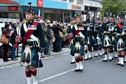 Argyll and Sutherland Highlanders (5 Scots) - Farewell Parade Stirling 2013