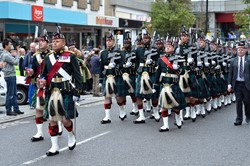 Argyll and Sutherland Highlanders - Farewell Parade, Murray Place, Stirling 2013